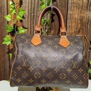 Authentic Louis Vuitton Speedy 25 Mono
